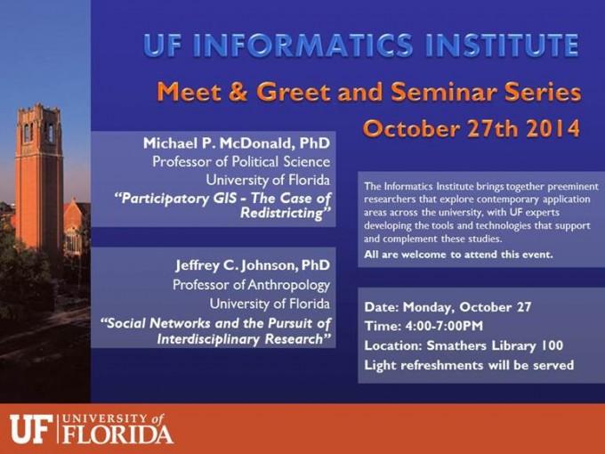UF_Informatics_Institute_seminar_series_20141027